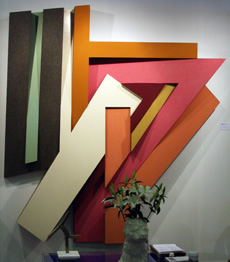 ZabludowII by Frank Stella at the 2013 Armory Show Modern in NYC