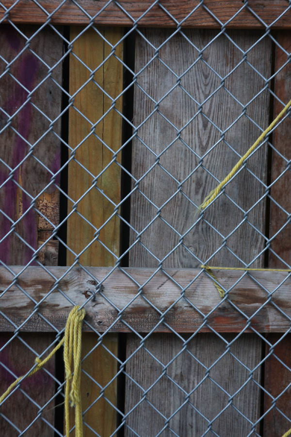 Fence, Hell's Kitchen, New York City. photo copyright Mark Dahle 2013.